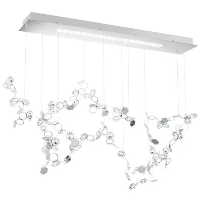 Crystalon 3-Light Crystal Pendant