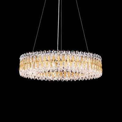Sarella 12-Light Crystal Pendant