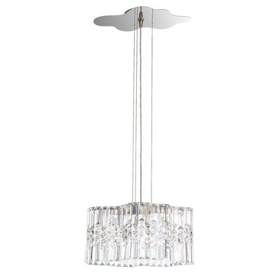 Selene 2-Light Crystal Pendant