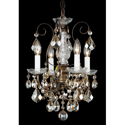 New Orleans 4-Light Crystal Chandelier