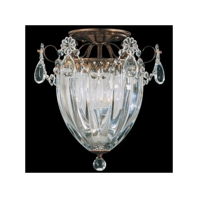 Bagatelle 1 Light Pendant Size: 12.5 H Finish: Heirloom Bronze Image