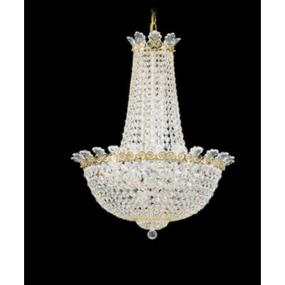 Roman 16-Light Empire Chandelier Finish: Antique Silver, Crystal Color: Swarovski Spectra