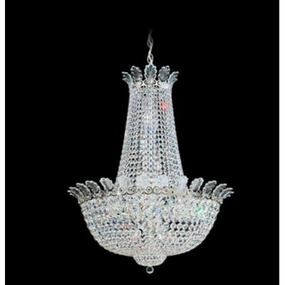 Roman 20-Light Empire Chandelier Finish: Polished Silver, Crystal Color: Swarovski Spectra