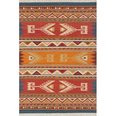 Lodge Hand-Woven Area Rug Rug Size: 9 x 12