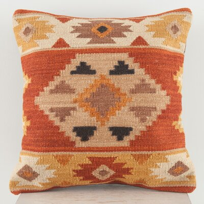 Continental Rug Company Lodge Wool Throw Pillow