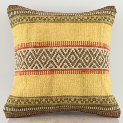 Lodge Wool Throw Pillow Size: Small