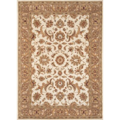 Meadow View Hand-Woven Ivory/Mushroom Area Rug