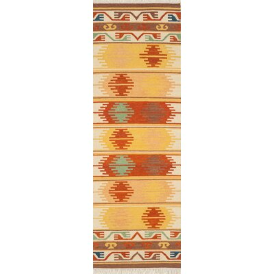 Lodge Hand-Woven Area Rug Rug Size: Runner 2 x 6