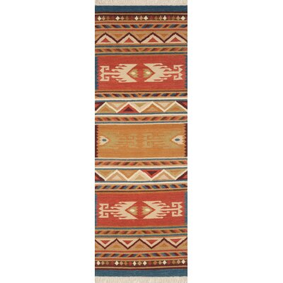 Lodge Hand-Woven Area Rug Rug Size: Runner 26 x 8