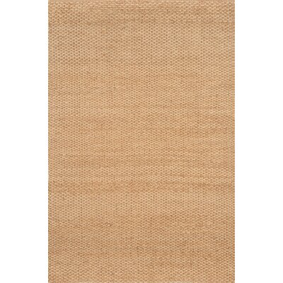 Hand-Woven Natural Area Rug Rug Size: Rectangle 36 x 56