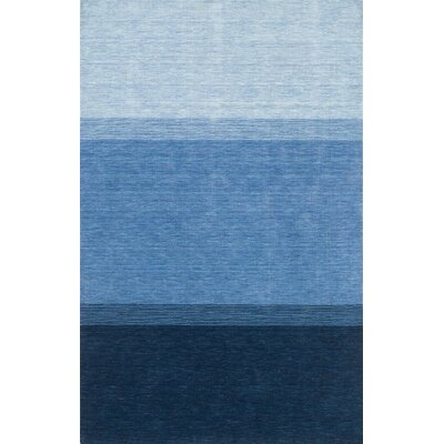 Urban Living Blue Area Rug Rug Size: 5 x 8