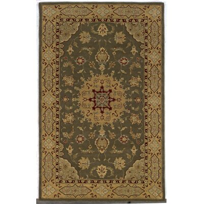 Uptown Olive Area Rug Rug Size: 59 x 89
