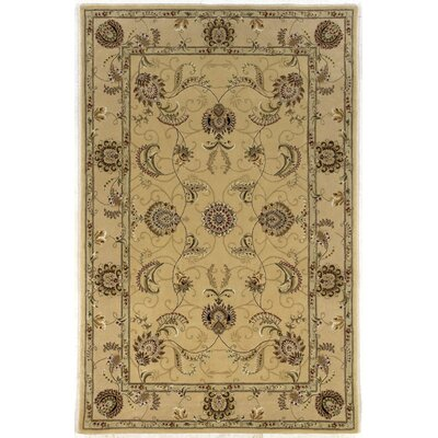 Silk Pearl Light Gold Area Rug Rug Size: Runner 26 x 10