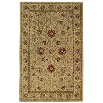 Meadow Breeze Beige Rug Rug Size: 96 x 136