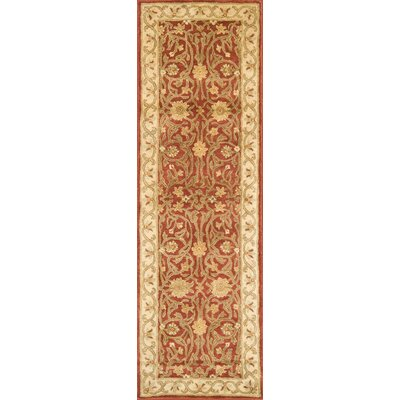 Meadow Breeze Rust Rug Rug Size: Runner 26 x 8