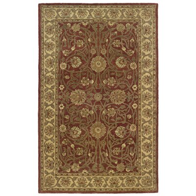 Meadow Breeze Rust Rug Rug Size: 4 x 6