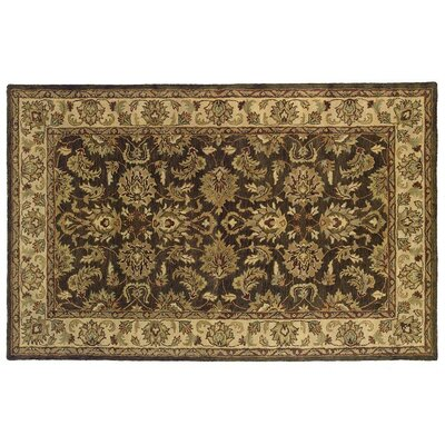 Meadow Breeze Dark Brown Rug Rug Size: Rectangle 5 x 8