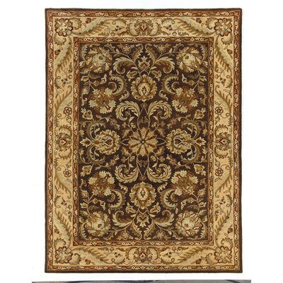 Meadow Breeze Brown Rug Rug Size: Rectangle 5 x 8