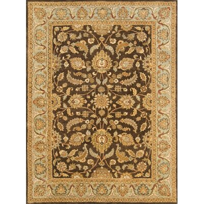 Meadow Breeze Brown/Light Spruce Rug Rug Size: 2 x 3