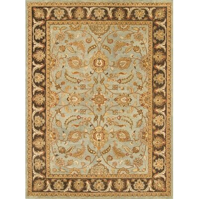 Meadow Breeze Light Spruce/Brown Rug Rug Size: 4 x 6