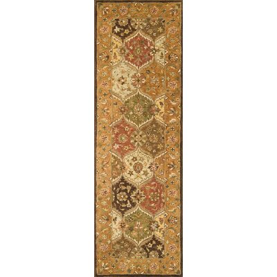 Meadow Breeze Multi Rug Rug Size: Runner 26 x 8
