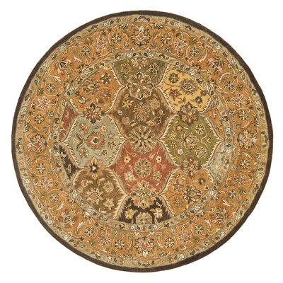 Meadow Breeze Multi Rug Rug Size: Round 6