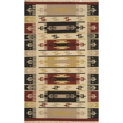 JiJum Beige Rug Rug Size: Rectangle 8 x 11