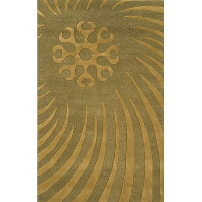 Edge Light Sage Area Rug Rug Size: 5 x 8