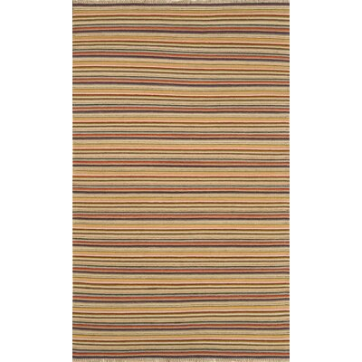 City Stripes Area Rug Rug Size: Rectangle 5 x 8
