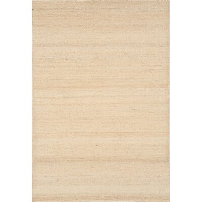 Hand-Woven Jute Bleached Area Rug Rug Size: Rectangle 66 x 96