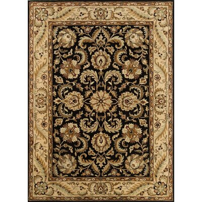 Meadow Breeze Black Rug Rug Size: Rectangle 5 x 8