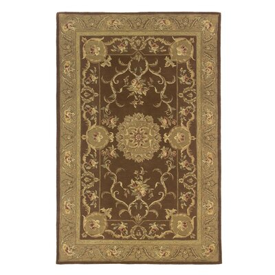 Royal Court Mocha Area Rug Rug Size: 39 x 59