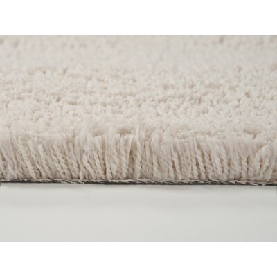 Cloud Hand-Woven Ivory Area Rug Rug Size: Round 5