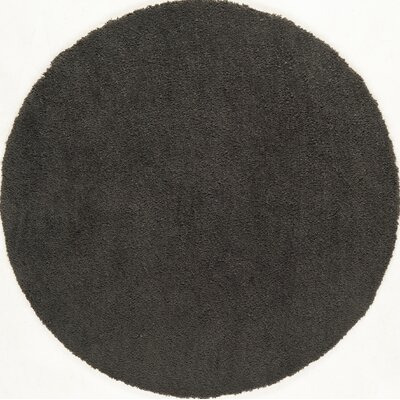Cloud Grey Area Rug Rug Size: Round 5