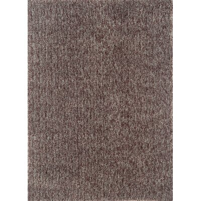 Cloud Chocolate / Blue Area Rug Rug Size: Round 3