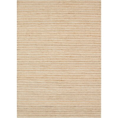 Natures Mix Hand-Woven Natural Area Rug Rug Size: 9 x 12
