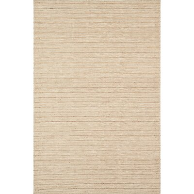 Natures Mix Hand-Woven Natural Area Rug Rug Size: 36 x 56