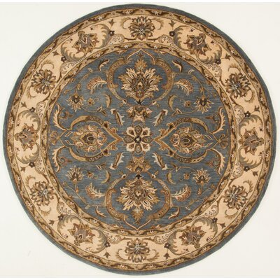 Meadow View Hand-Woven Blue/Beige Area Rug