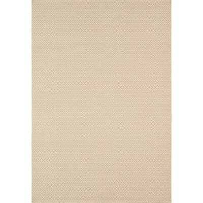 Diamond Beige Area Rug Rug Size: 5 x 76