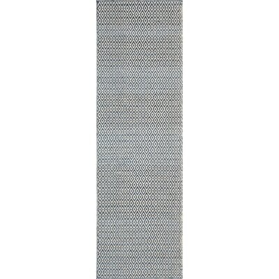 Brooklington Hand-Woven Wool Blue Area Rug Rug Size: Runner 2'3