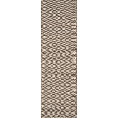 Brooklington Hand-Woven Wool Brown Area Rug Rug Size: Runner 23 x 8