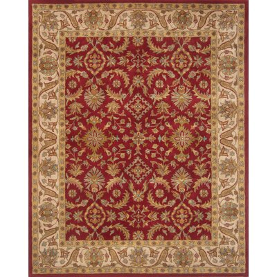 Pardis Red Rug Rug Size: 79 x 99
