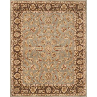 Pardis Blue/Brown Rug Rug Size: 79 x 99