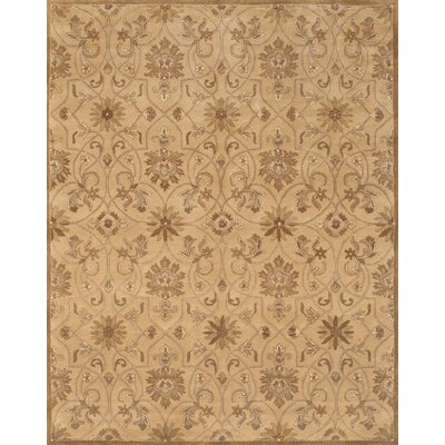 Pardis Light Gold Rug Rug Size: 9 x 12
