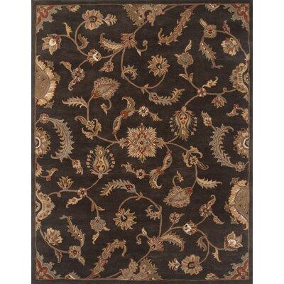 Serene Charcoal Area Rug Rug Size: 96 x 136