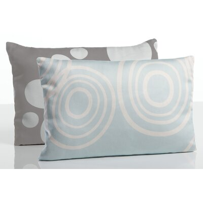 Organic Toddler Boudoir Pillow Color: Glass/Misty