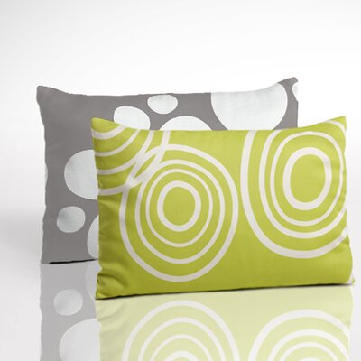 Organic Toddler Boudoir Pillow Color: Lawn/Misty