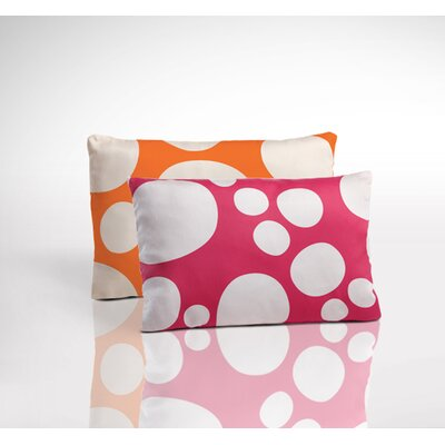 Nook Sleep Systems Organic Toddler 2- Sided Pillow - Stepping Stone Blossom and Poppy