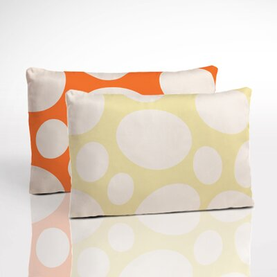 Organic Boudoir Pillow Color: Orange/Yellow