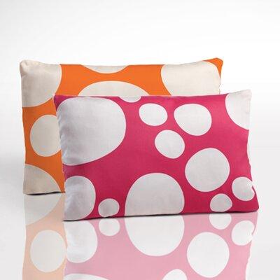 Organic Boudoir Pillow Color: Orange/Pink